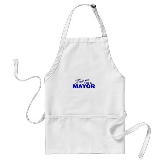 Trust Me I'm a Mayor Adult Apron
