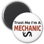 Trust Me I'm A MECHANIC 2 Inch Round Magnet