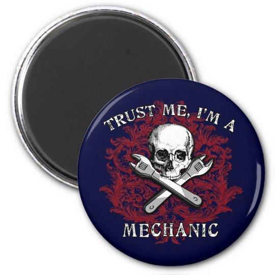 Trust Me I'm a Mechanic Apparel, Travel Mugs, Gift Magnet
