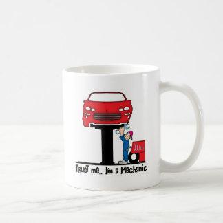 Trust Me I'm a Mechanic Funny Auto Mechanic Coffee Mug