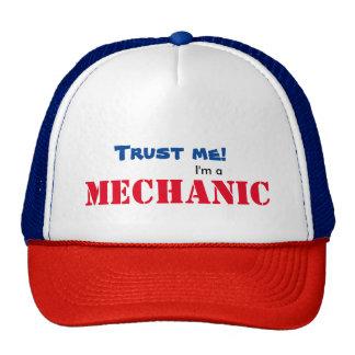 Trust me, I'm a mechanic hat