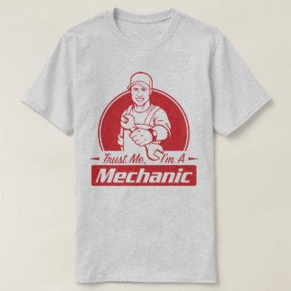 Trust Me I'm A Mechanic Qualified Work Humour Tee