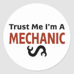 Trust Me I'm A MECHANIC Stickers