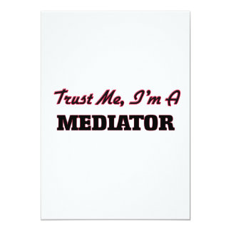 "Trust me I'm a Mediator 5"" X 7"" Invitation Card"
