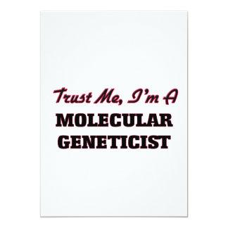 Trust me I'm a Molecular Geneticist Invite