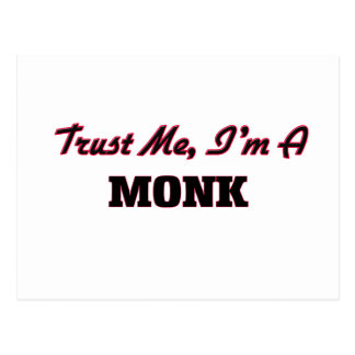 Trust me I'm a Monk Post Cards