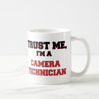 Trust Me I'm a My Camera Technician Classic White Coffee Mug