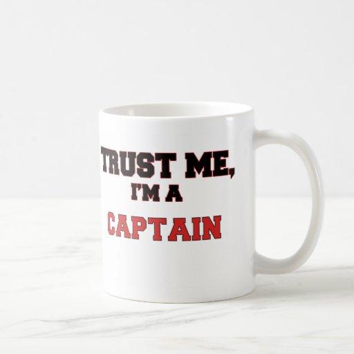 Trust Me I'm a My Captain Classic White Coffee Mug