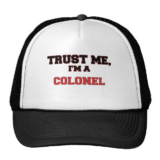Trust Me I'm a My Colonel Mesh Hats