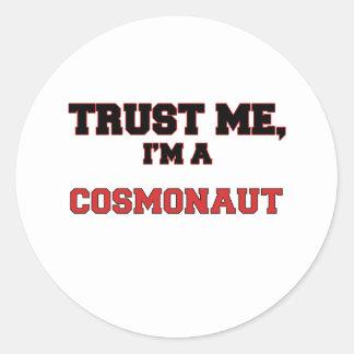 Trust Me I'm a My Cosmonaut Stickers
