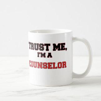 Trust Me I'm a My Counselor Classic White Coffee Mug