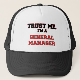 Trust Me I'm a My General Manager Trucker Hat