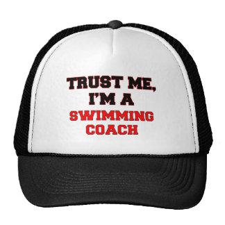 Trust Me I'm a My Swimming Coach Mesh Hat