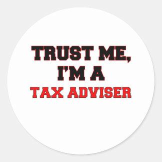 Trust Me I'm a My Tax Adviser Stickers