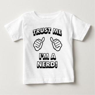 TRUST ME IM A NERD BLACK BABY T-Shirt