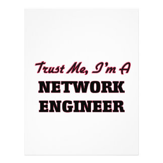 Trust me I'm a Network Engineer Custom Flyer