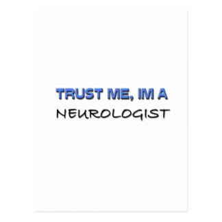 Trust Me I'm a Neurologist Postcard