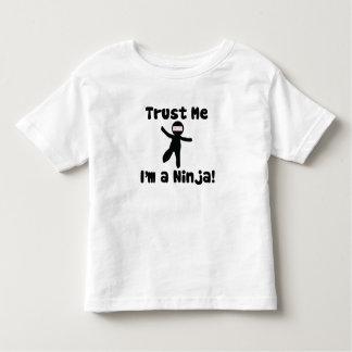 Trust me I'm a NINJA Toddler T-shirt