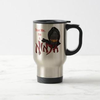 Trust Me I'm A Ninja Travel Mug