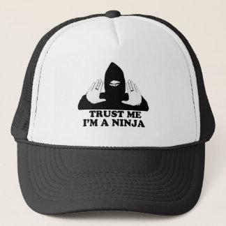 Trust me I'm A Ninja Trucker Hat