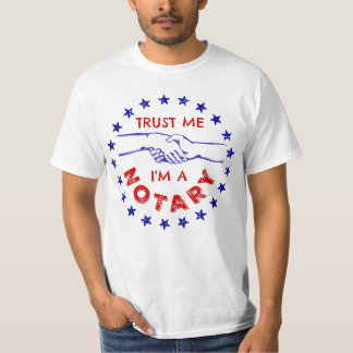 Trust Me, I'm a Notary Handshake T-Shirt