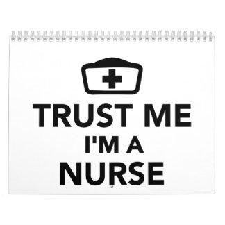 Trust me I'm a nurse Calendar
