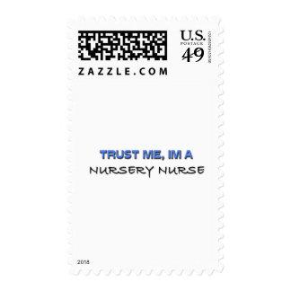 Trust Me I'm a Nursery Nurse Stamps
