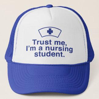 Trust Me I'm a Nursing Student Trucker Hat