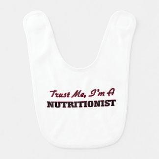 Trust me I'm a Nutritionist Bib