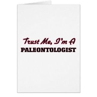 Trust me I'm a Paleontologist Card