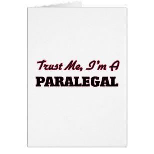 Trust me I'm a Paralegal