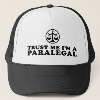 Trust Me I'm a Paralegal Trucker Hat