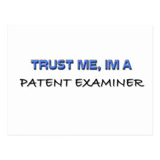 Trust Me I'm a Patent Examiner Postcard