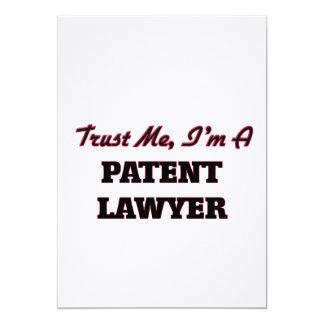 Trust me I'm a Patent Lawyer Announcement