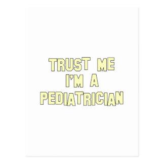Trust Me I'm a Pediatrician Postcard