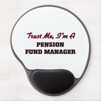 Trust me I'm a Pension Fund Manager Gel Mouse Mat