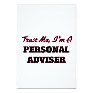 Trust me I'm a Personal Adviser Custom Invitations