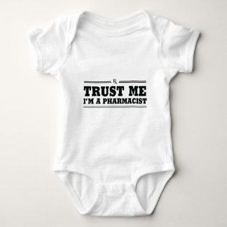 Trust Me, I'm a Pharmacist Baby Bodysuit