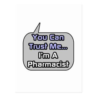Trust Me .. I'm a Pharmacist Postcard