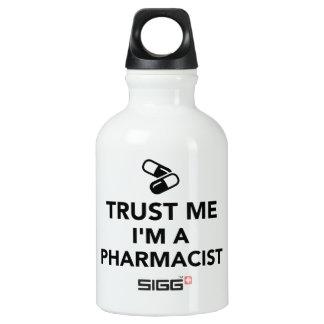 Trust me I'm a Pharmacist Water Bottle