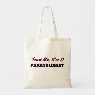 Trust me I'm a Phrenologist Budget Tote Bag