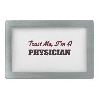 Trust me I'm a Physician Rectangular Belt Buckle