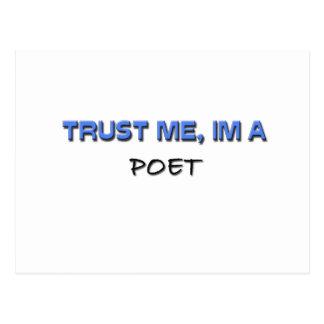 Trust Me I'm a Poet Postcards
