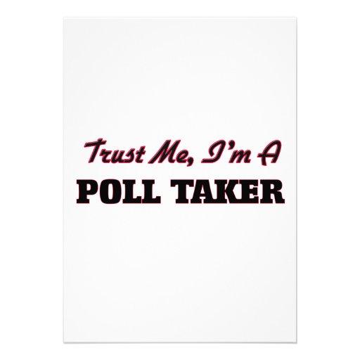 Trust me I'm a Poll Taker Card