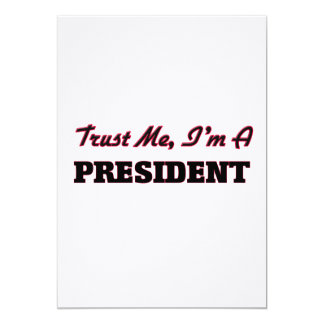 Trust me I'm a President Cards