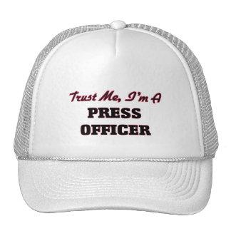 Trust me I'm a Press Officer Hat