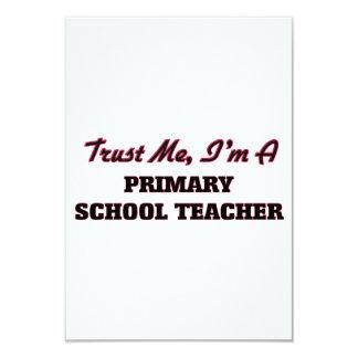 Trust me I'm a Primary School Teacher Custom Invites