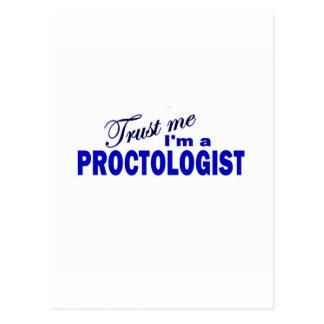 Trust Me I'm a Proctologist Postcard