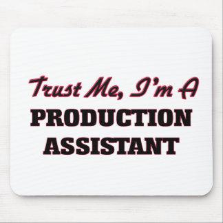 Trust me I'm a Production Assistant Mousepads