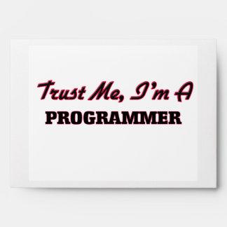 Trust me I'm a Programmer Envelope